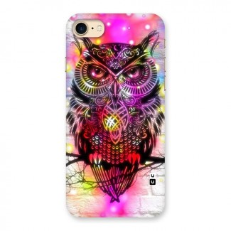 Colourful Owl Back Case for iPhone 7