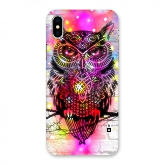 Colourful Owl Back Case for iPhone X