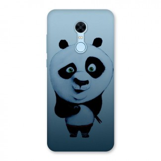 Confused Cute Panda Back Case for Redmi Note 5