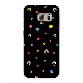 Cute Multicolor Shapes Back Case for Samsung Galaxy S6 Edge Plus