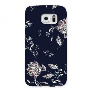Dark Petals Back Case for Samsung Galaxy S6
