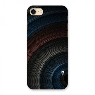 Dark Shade Swirls Back Case for iPhone 7