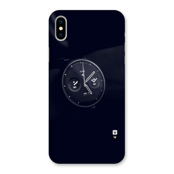 Dark Watch Back Case for iPhone X