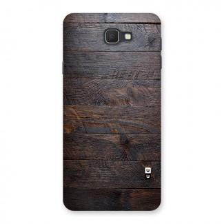 f9eb8a3f6d3 Dark Wood Printed Back Case for Samsung Galaxy J7 Prime