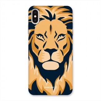 Designer Lion Back Case for iPhone XS Max