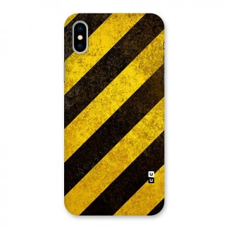 Diagonal Road Pattern Back Case for iPhone X