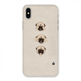 Doggo Moods Back Case for iPhone X