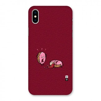 Donut Murder Back Case for iPhone X