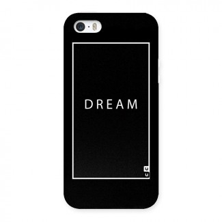 Dream Classic Back Case for iPhone SE