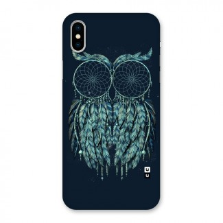 Dreamy Owl Catcher Back Case for iPhone X