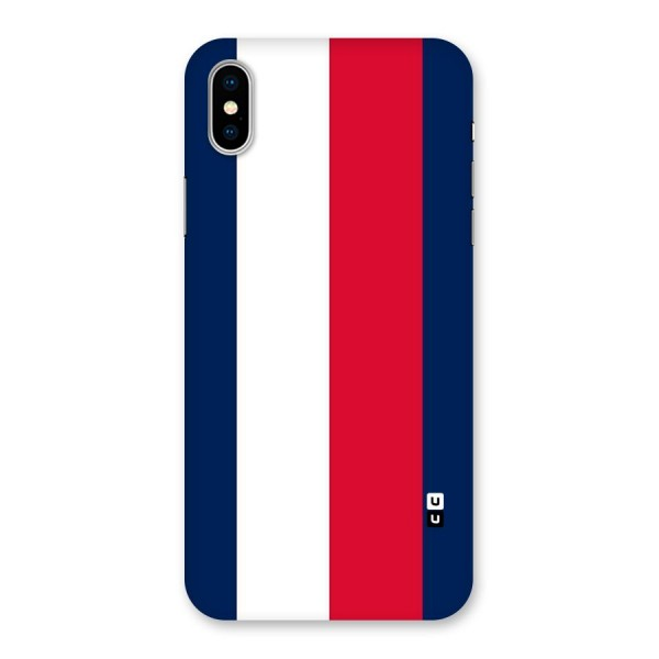 Electric Colors Stripe Back Case for iPhone X