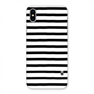 Elegant Basic Stripes Back Case for iPhone X