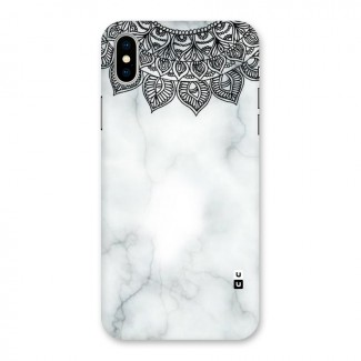 Exotic Marble Pattern Back Case for iPhone X