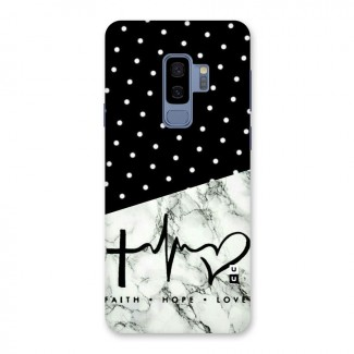 Faith Love Back Case for Galaxy S9 Plus