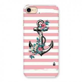 Floral Anchor Back Case for iPhone 7