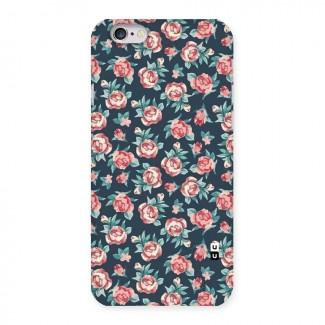 Floral Navy Bloom Back Case for iPhone 6 6S
