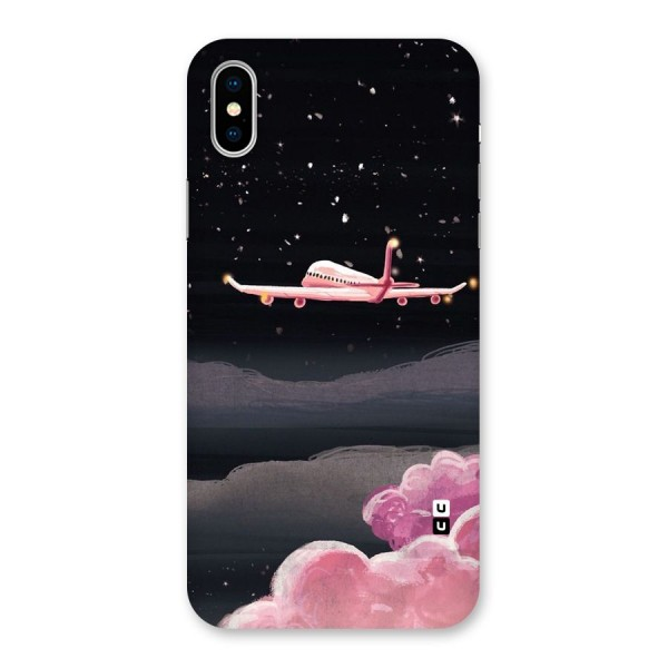 Fly Pink Back Case for iPhone X