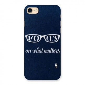 Focus Matters Back Case for iPhone 7