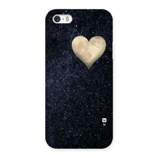 Galaxy Space Heart Back Case for iPhone 5 5S