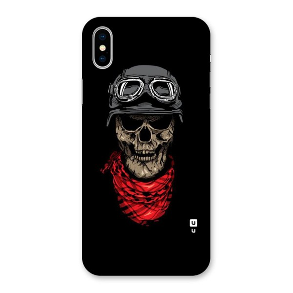 Ghost Swag Back Case for iPhone X