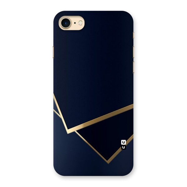 Gold Corners Back Case for iPhone 7