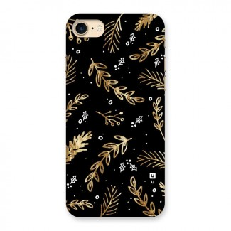 Gold Palm Leaves Back Case for iPhone 7