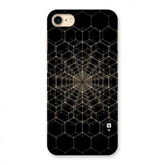 Gold Web Back Case for iPhone 7