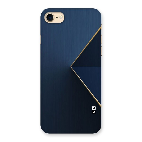 Golden Blue Triangle Back Case for iPhone 7