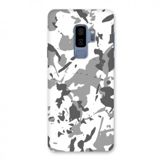 Grey Camouflage Army Back Case for Galaxy S9 Plus