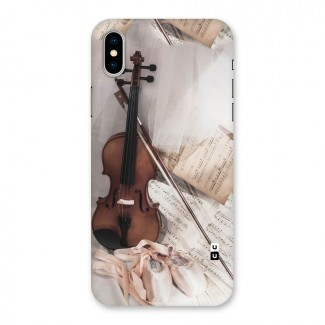 Guitar And Co Back Case for iPhone X