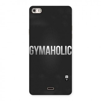 Gymaholic Back Case for Micromax Canvas Silver 5