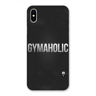 Gymaholic Back Case for iPhone X