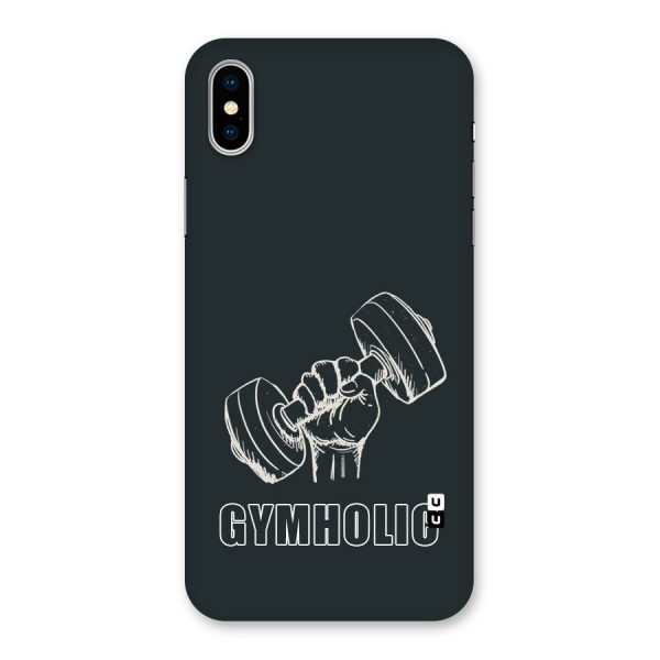 Gymholic Design Back Case for iPhone X