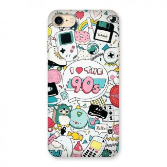 Heart 90s Back Case for iPhone 7