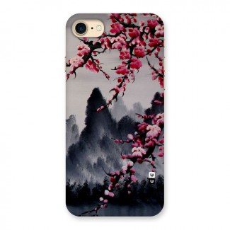 Hills And Blossoms Back Case for iPhone 7
