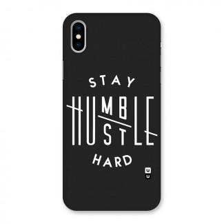 Hustle Hard Back Case for iPhone X