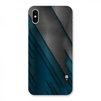 Just Lines Back Case for iPhone X