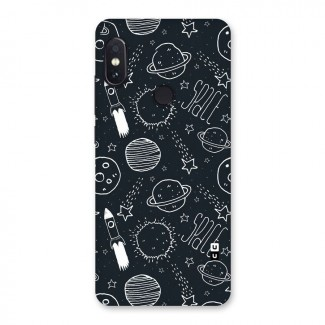Just Space Things Back Case for Redmi Note 5 Pro