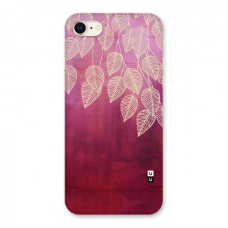 Leafy Outline Back Case for iPhone 8