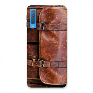 Leather Bag Design Back Case for Galaxy A7 (2018)