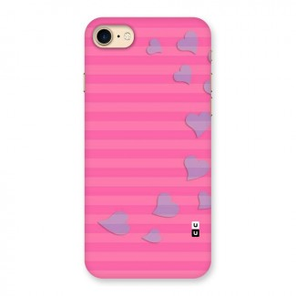 Light Heart Stripes Back Case for iPhone 7