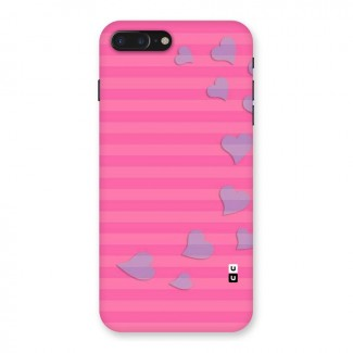Light Heart Stripes Back Case for iPhone 7 Plus