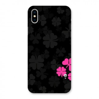 Little Pink Flower Back Case for iPhone X