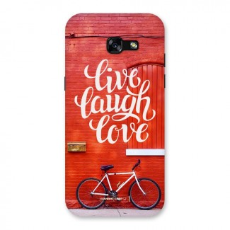 Live Laugh Love Back Case for Galaxy A5 2017