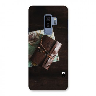 Map Journal Back Case for Galaxy S9 Plus