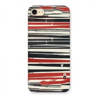 Messy Vintage Stripes Back Case for iPhone 7