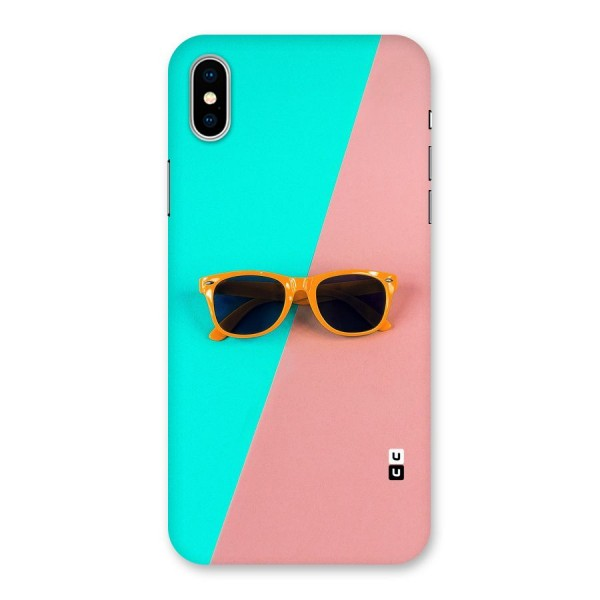 Minimal Glasses Back Case for iPhone X