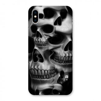 Multiple Skulls Back Case for iPhone X