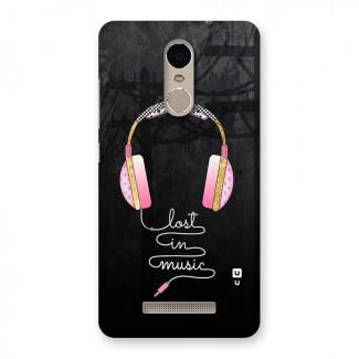 Music Lost Back Case for Xiaomi Redmi Note 3