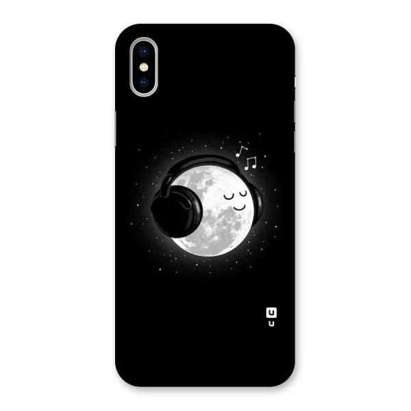 Music World Enjoying Back Case for iPhone X